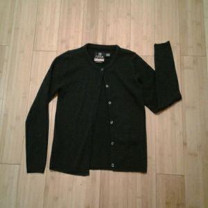Girls IZOD School Uniform Navy Cardigan 10/12
